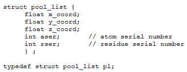Fig. PD2: Water pool data type
